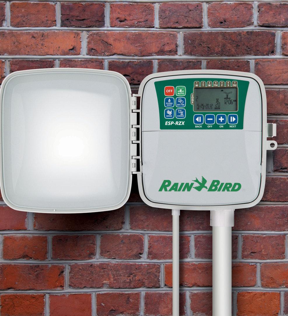 Programador de riego jardin rain bird serie esp rzx 6 - Programador para riego ...